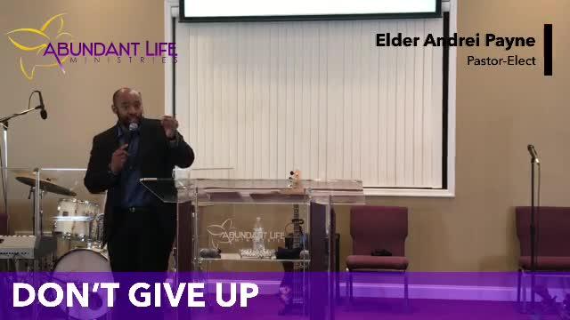 Abundant Life Ministries  on 01-Nov-20-16:36:06