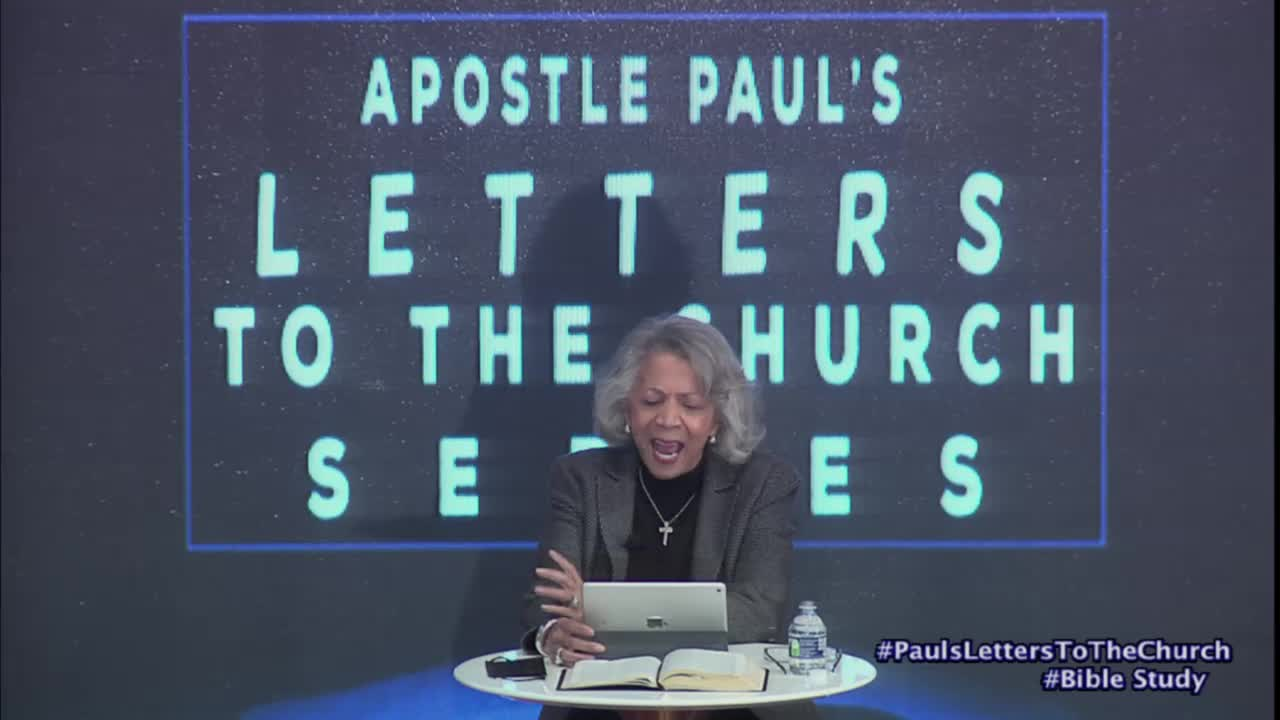 Apostle Paul's Letters to the Church Bible Study Series - Jan 27, 2021