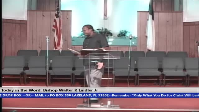 20200705 Sun 10AM Are You Three Fifths A Free Man? Bishop Walter K Laidler Jr