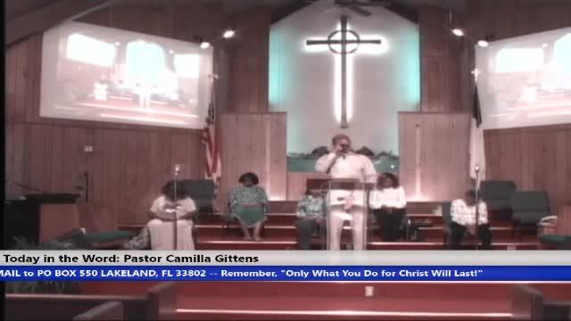 210505 Wed 7pm, Life Through The Holy Spirit, Pastor Camilla Gittens