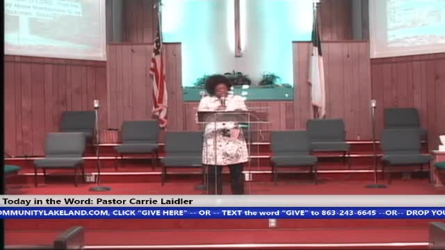 20200906 Sun 8:30A.M, When A Nation Forgets God, Psalms 9:15-20, Pastor Carrie Laidler