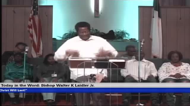 20200308 Sun 10AM, Spiritual Perfection - The I in You! Matthew 7:24-29, Bishop Walter K Laidler Jr
