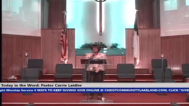 20201115 Sun 8:30 A.M., Hour Of Power - What You Are Conscious Of You Manifest, Pastor Carrie Laidler