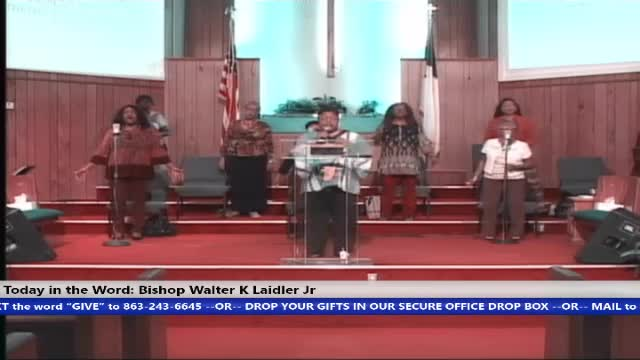 201018 SUN, WHO IS THE OTHER MAN - WHO IS YOUR TWIN? BISHOP WALTER K. LAIDLER JR