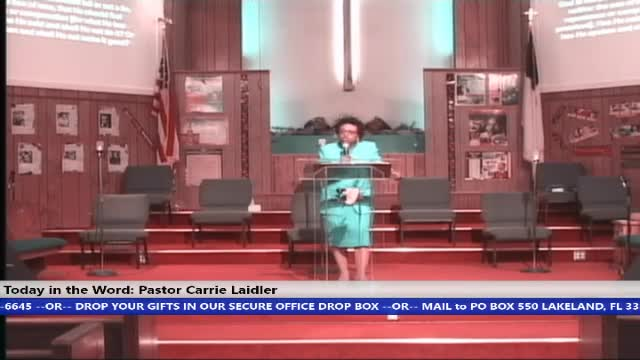 210321 SUN 8:30 AM Hour of Power Pastor Carrie Laidler