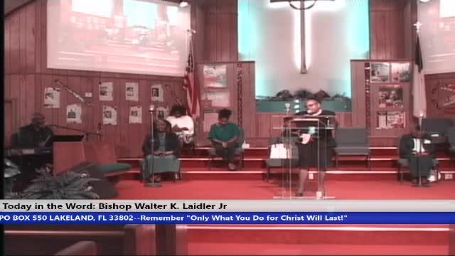 210321 Sun, Faith, Advantage vs Disadvantage & Equity vs Equality, Bishop Walter K Laidler Jr