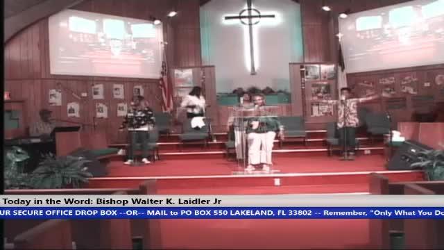 210324 Wed, Faith, 12 Advantages Black and Whites, Bishop Walter K. Laidler Jr