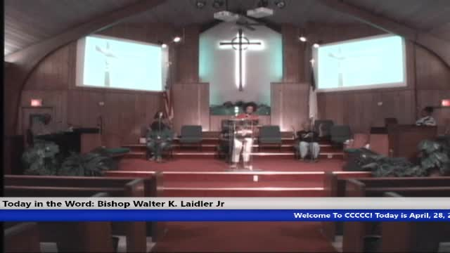 210428 Wed, There's Life In The Sacrifice - Understand The Purpose, Bishop Walter K. Laidler Jr
