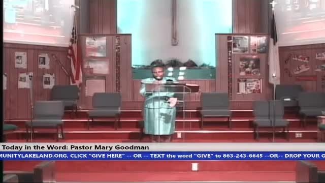 210328 Sunday HOP, Faith & Prayer The Necessary Essentials For A Christian Life, Pastor Mary Goodman