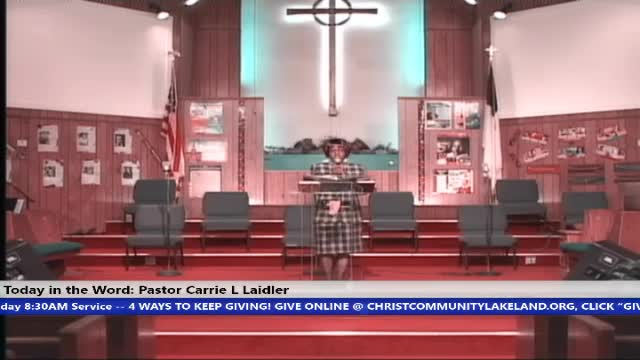 210131 HOP 8:30am, Pray And Relief, Pastor Carrie L Laidler