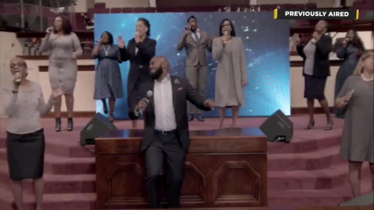EBENEZER A.M.E. CHURCH Sunday Worship Service Live  on 14-Feb-21-12:45:00
