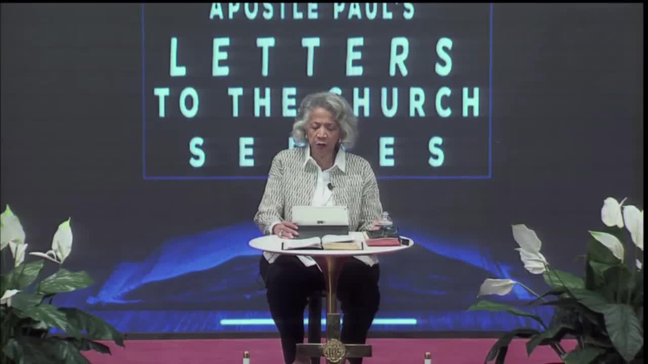 Paul's Letters To The Church