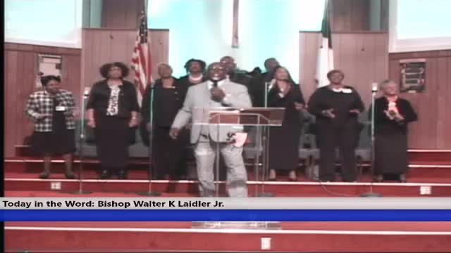 20200301 Sunday 10am TITLE: How Do Wise People Hear VERSE: Proverbs 1:5 SPEAKER: Bishop Walter K. Laidler Jr.