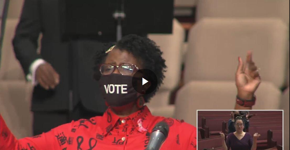 Cultivating Peace, Asst. Pastor Rev. Dr. Sandra K. James, Oct. 25, 2020 @ 11am