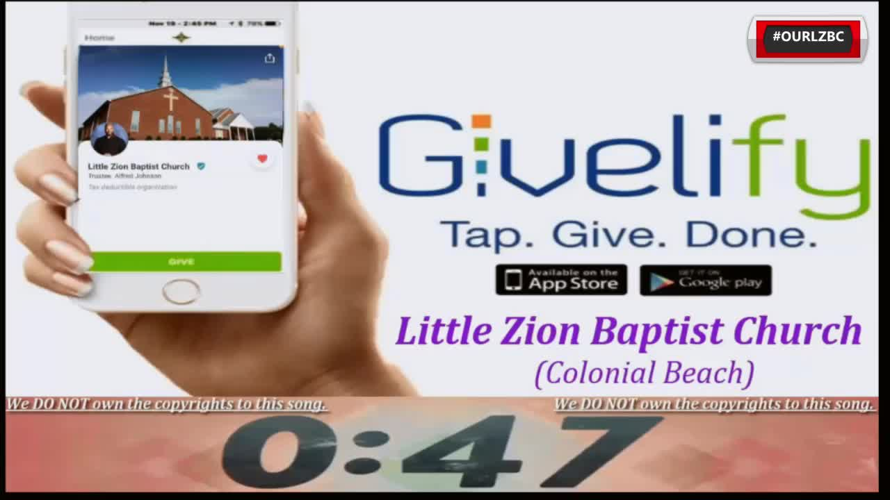 Little Zion Baptist Church TV  on May 02, 2021 A God Who Helps Us