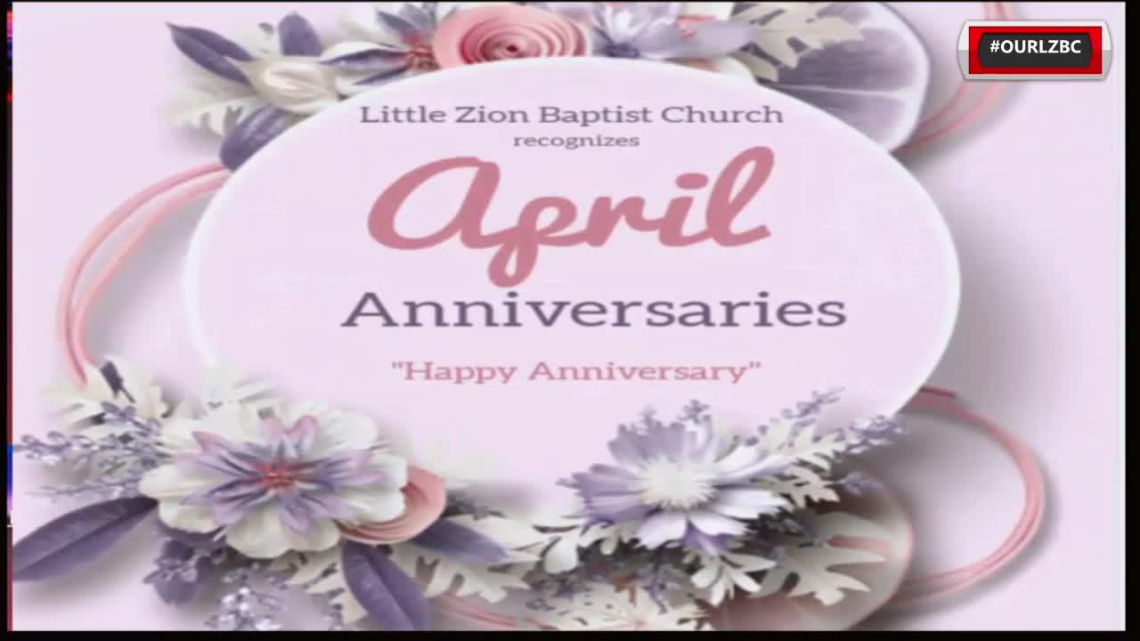 Little Zion Baptist Church TV  on Apr 1, 2021 I Need A Word