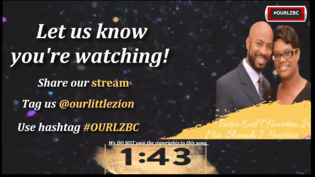 Little Zion Baptist Church TV  on Jan24,21 Help Is Already Here