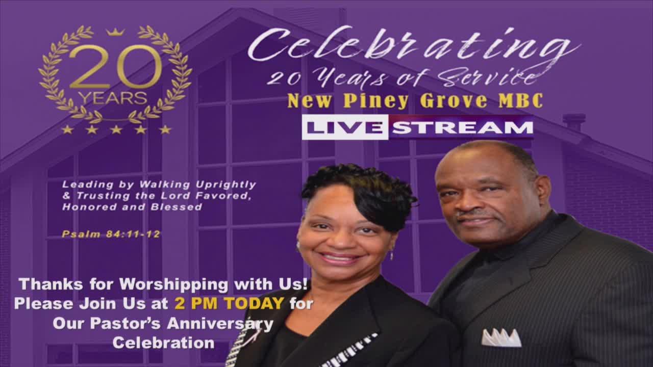 New Piney Grove Missionary Baptist Church  on 01-Nov-20-16:33:50