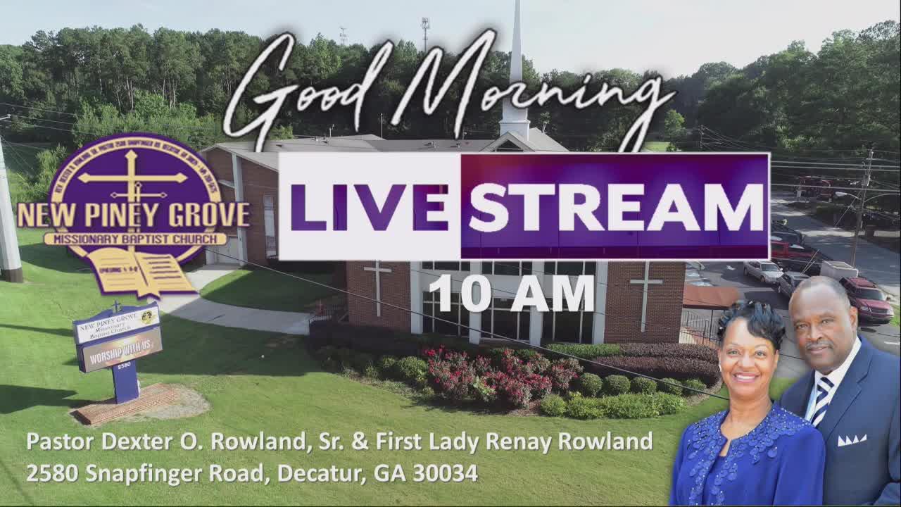 New Piney Grove Missionary Baptist Church  on 04-Oct-20-13:46:39