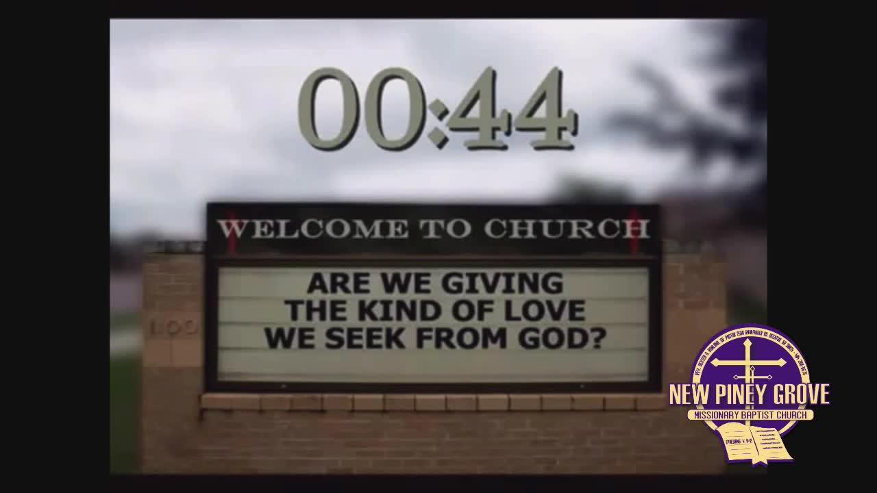 New Piney Grove Missionary Baptist Church  on 19-Nov-20-00:19:19