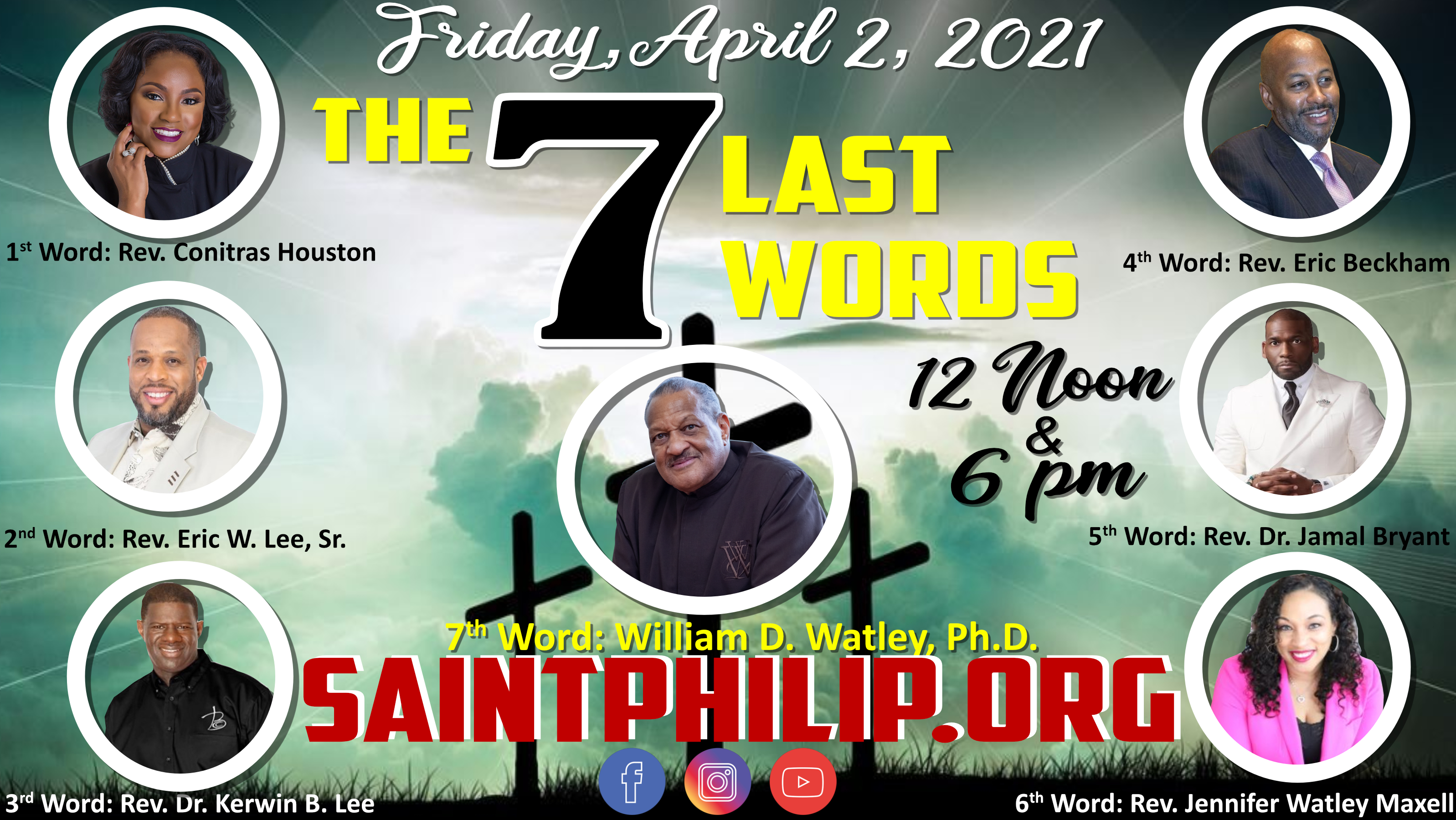 The Seven Last Words: Good Friday 2021