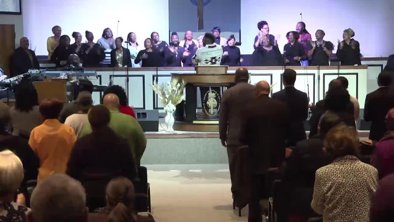 St. John Congregational Church Live Worship Services  on 21-Jan-20-23:36:24