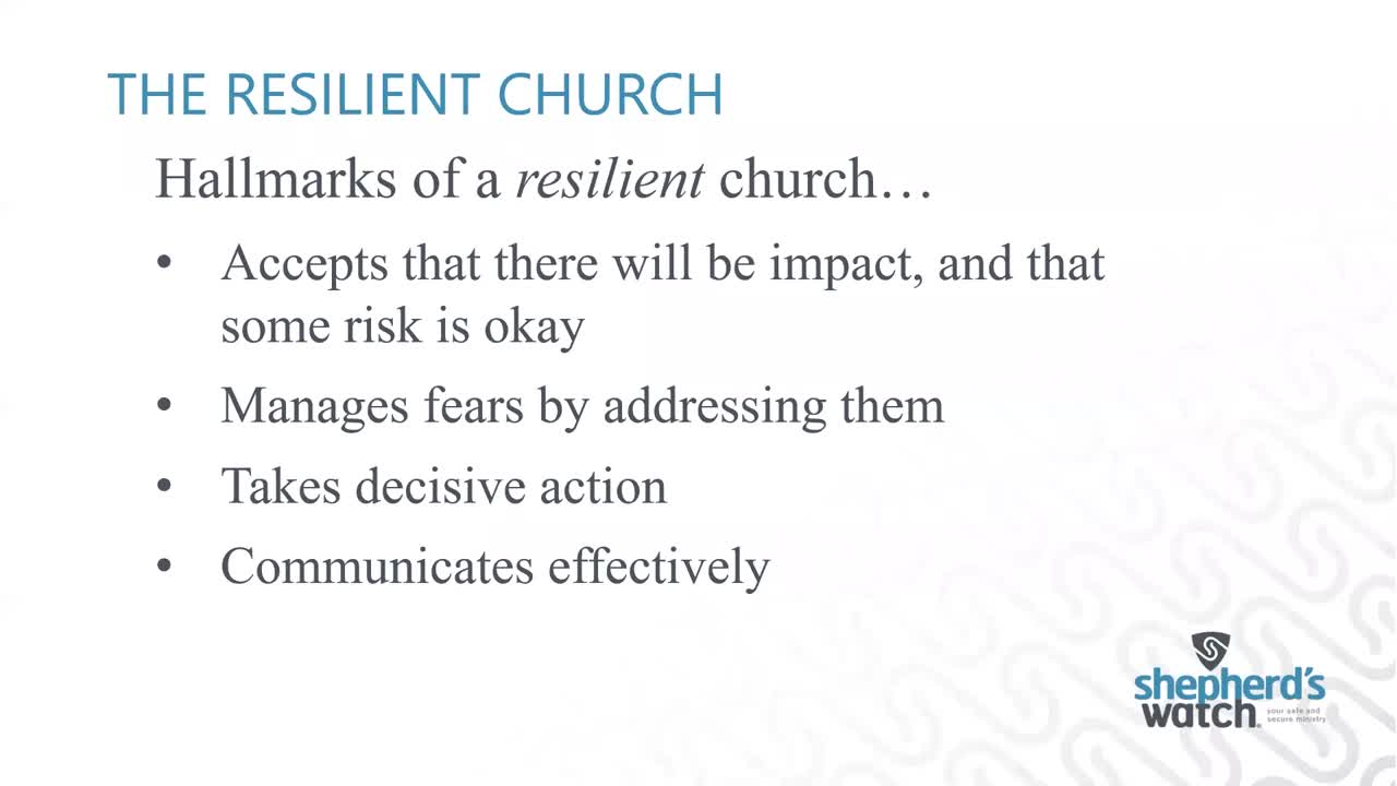 Craig Cable - Safety Webinar Coronavirus Outbreak - What Your Church Needs to Know