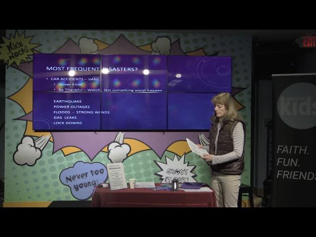 Jan Radford - Disaster Preparedness