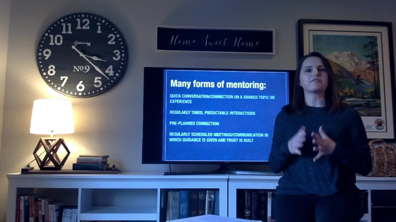 Elisabeth Aaby - Mentoring Matters Most