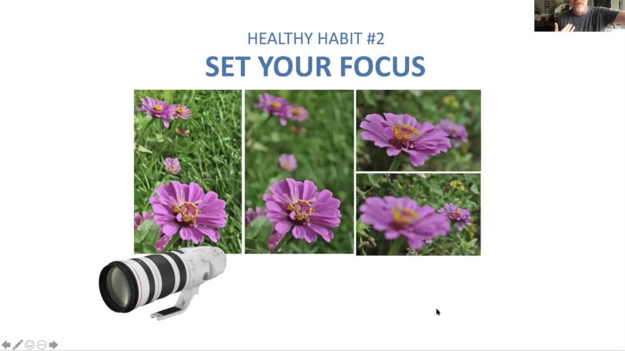 Chuck Peters - 8 Healthy Habits