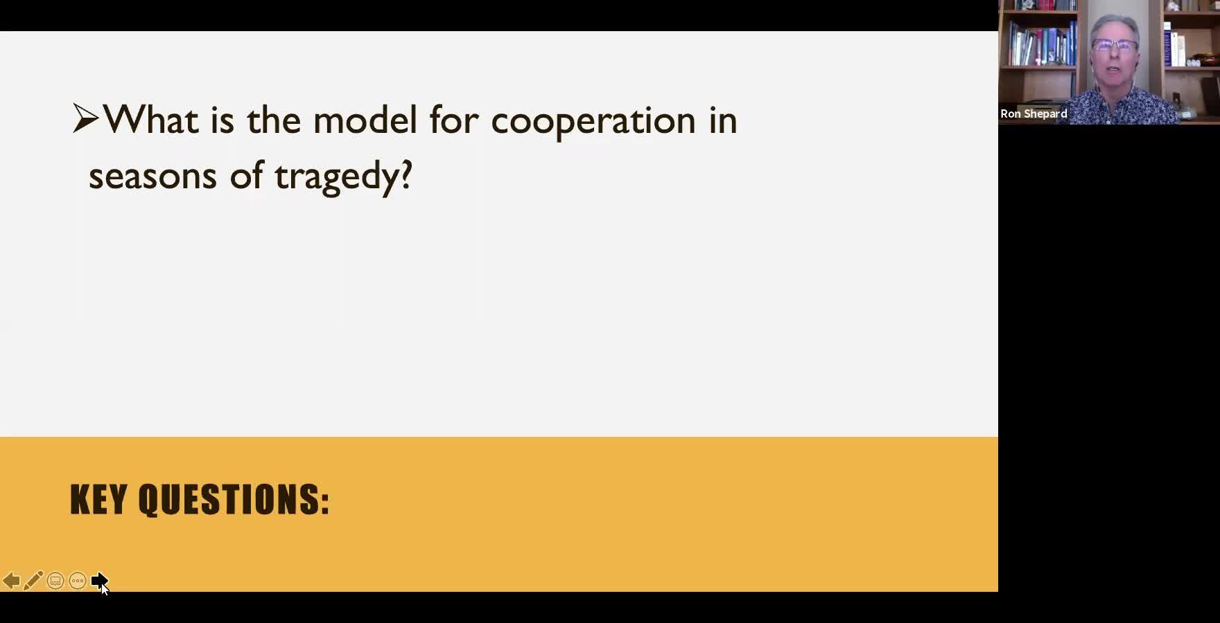 Warren Mainard - Disaster Collectivism Cooperation Panel - 2