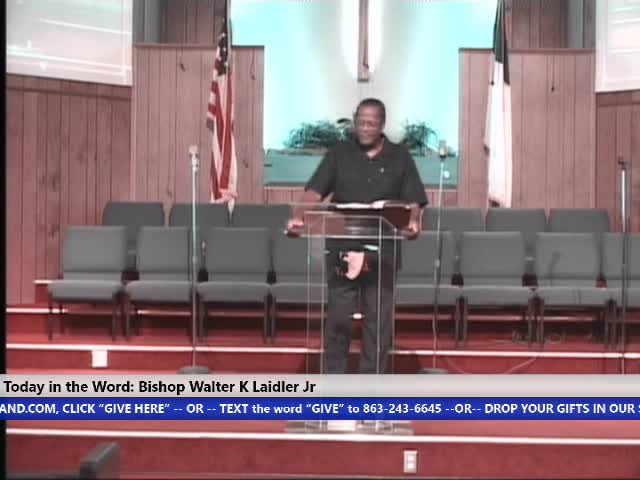 20200628 10am Sun God, Slavery, Racism And The American Experience Bishop Walter K Laidler Jr
