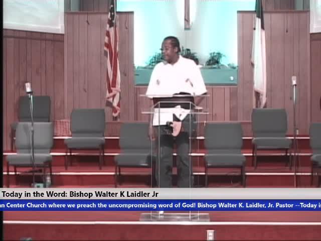 200908 SUN, Your Faith In God Exodus 1:2-3, Bishop Walter K. Laidler Jr