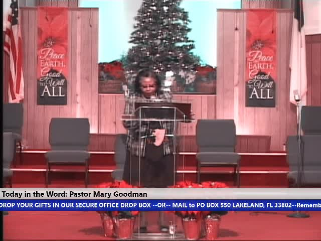 201227 Sun 830am, HOP Hour of Power Testimony, Pastor Mary Goodman and Pastor Carrie Laidler