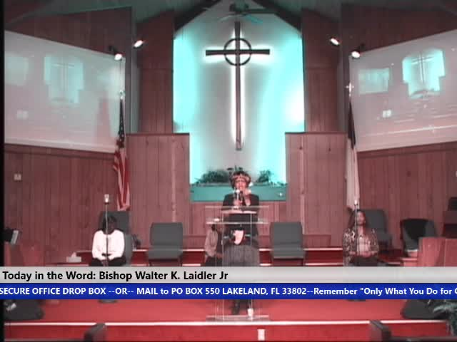 210110 Sun, I Have Something I Did Not Work For, My Faith in God! Bishop Walter K. Laidler Jr