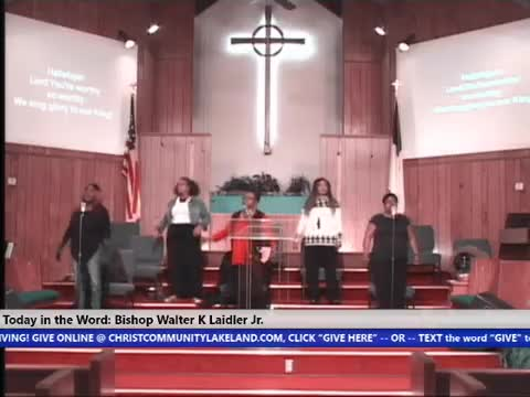 210113 Wed, Faith In The Fantastic Four,  Bishop Walter K  Laidler