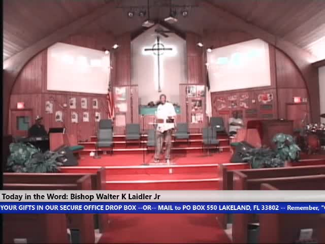 210210 Wed, Faith, Hope, Love, & Prayer - The Gracious Words of Your Mouth, Bishop Walter K. Laidler Jr