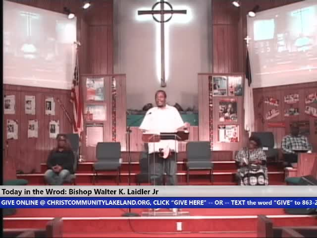 210217 Wed, Seeking Justification By Works - Being Just Right, Bishop Walter K. Laidler Jr
