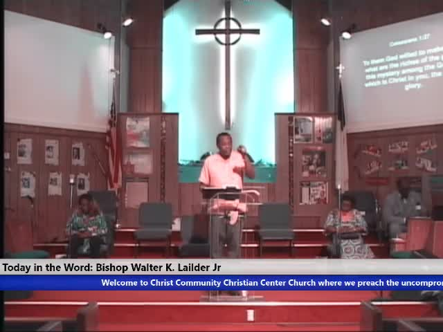 210221 Sun, Faith: 9 Presentations of Believers Perfection, Bishop Walter K. Laidler Jr