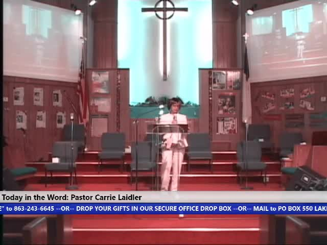 210221 Sunday 8 30am HOP, Part 5 Whos Report Will You Believe It Takes a Different Spirit Pastor Carrie Laidler - 21 February 2021 - 08-31-55 AM_Trim