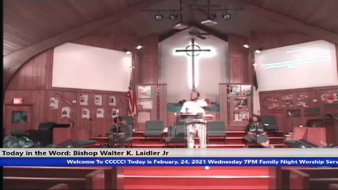 210224 Wed, Apply With Your Faith In GOD Not Your Experience, Bishop Walter K. Laidler Jr Trim