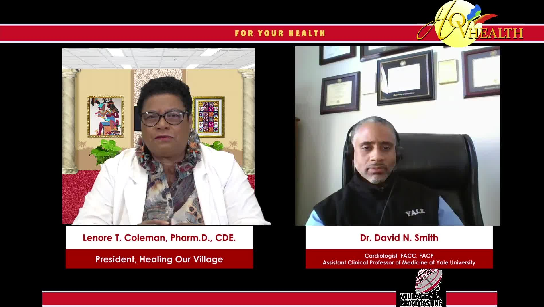 For You Health Dr- Lenora T- Coleman interview with Dr- David Smith on 2-24-202