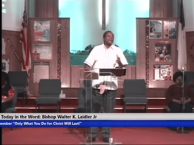 210314 SUN, FAITH: The Gospel is The Power (get this) of God to Whoever (not all but to those) Who Believe! Bishop Walter Laidler, Jr. (Trim)