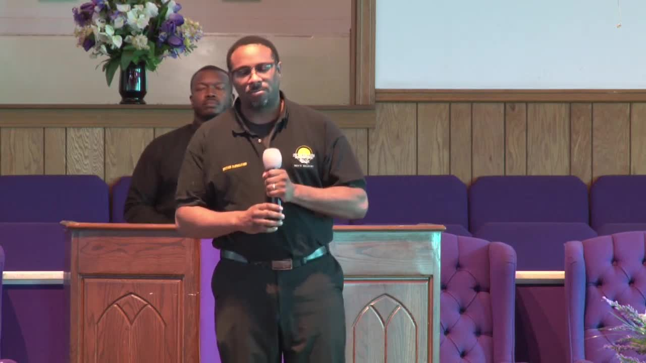 Sermon:  Whose Side Are You On? Pastor Dexter O. Rowland Sr.,