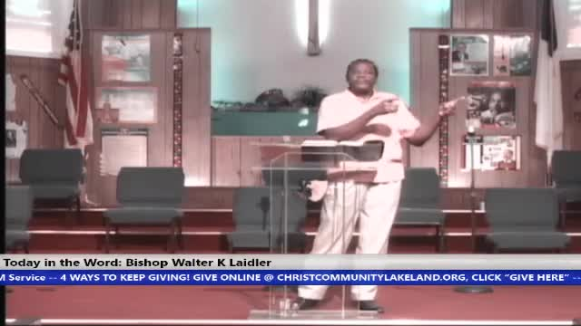210411 Sun, Faith An Out of Body Experience, Bishop Walter K- Laidler Jr