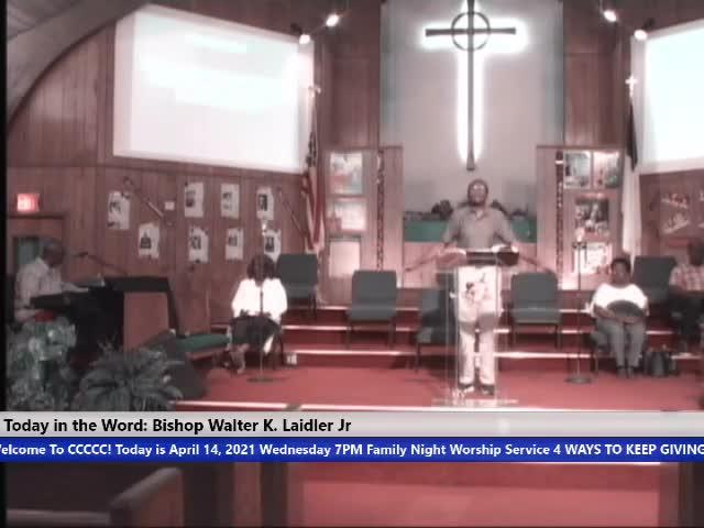 210414 Wed, Faith Focus on the Cause, Bishop Walter K- Laidler Jr Trim