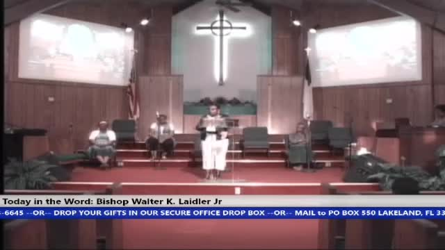 210421 Wed, Title:God Is Doing A New Thing In You, Bishop Walter K Laidler Jr