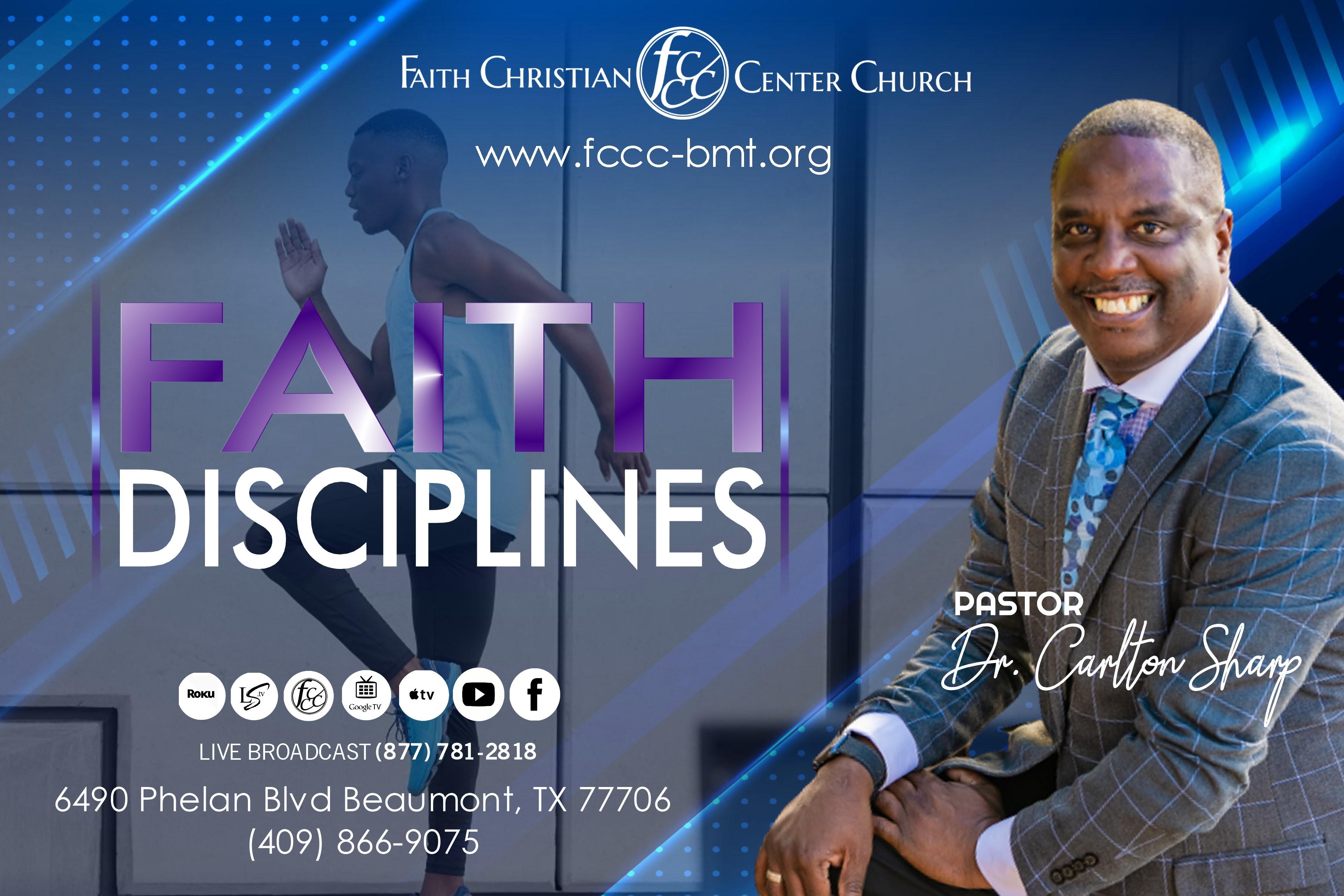 Faith Disciplines (Part 1) mp3