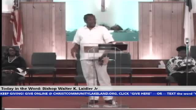 210502 Sun, Faith in GOD - An Enlightened Understanding of an Out of Body Experience, Bishop Walter K. Laidler Jr