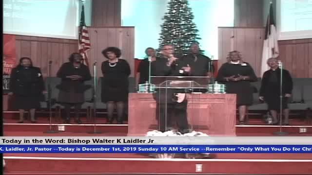 Pastor Phillip Walker